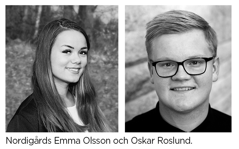 Emma och Oskar fick Stiftelsen Musikfestens stipendier