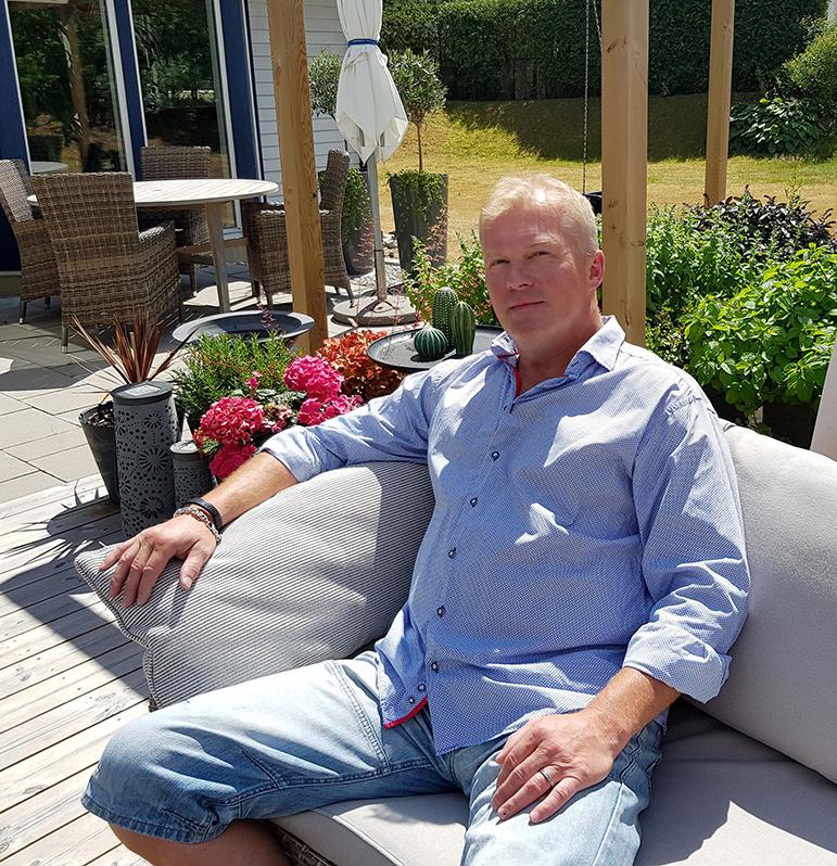 Ett nytt kapitel i Eddie Hanssons liv