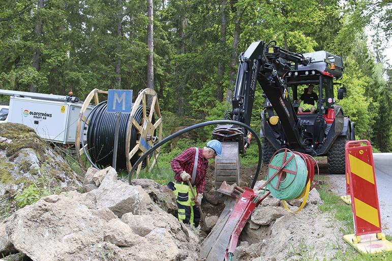 Olofströms Kraft gräver neråt och tänker framåt