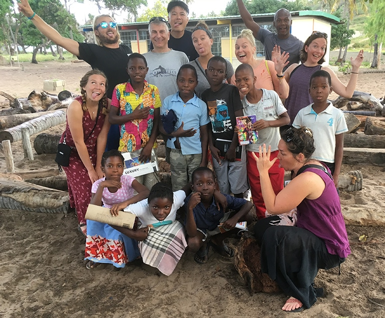 Volontär I Mozambique