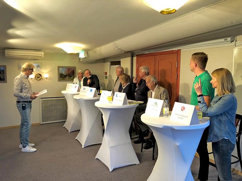 Välbesökt på Osby Näringslivs valdebatt