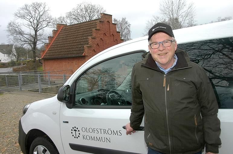 Risto i Olofström var först i Blekinge