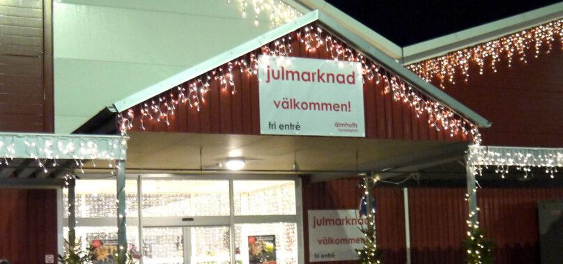 Julstämning i Älmhult lockade långväga gäster