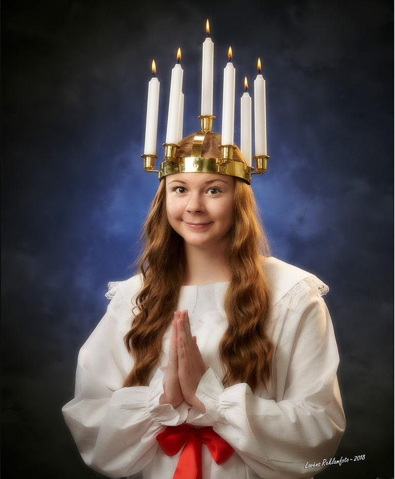 Årets Lucia i Osby