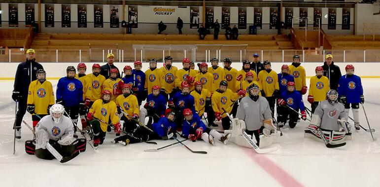 Hockeycamp  med NHL-stjärnor i Glimåkra