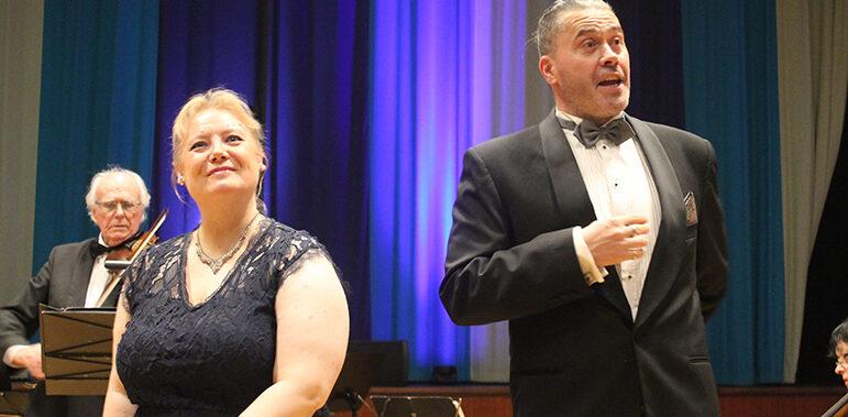 Lyckad nyårskonsert  på Älmhults Folkets hus