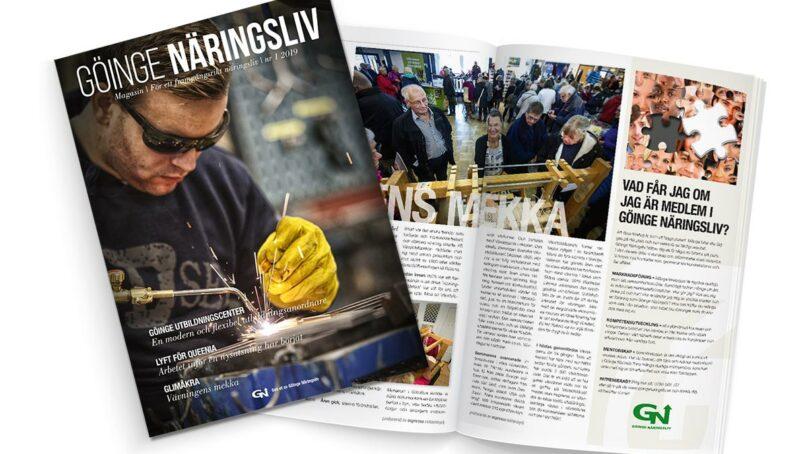 Nytt magasin  för ökat samarbete