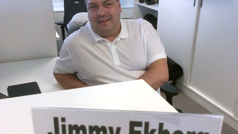 Jimmy har alltid  centrum i fokus
