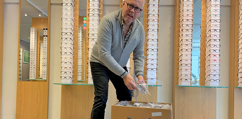 """""""Glasögonmäster""""  åker på sin femte välgörenhetsresa"""