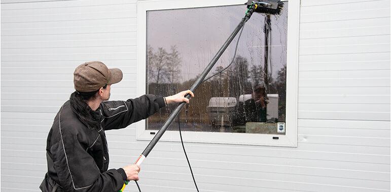 Löndals fönsterputs utökar med ny miljövänlig teknik