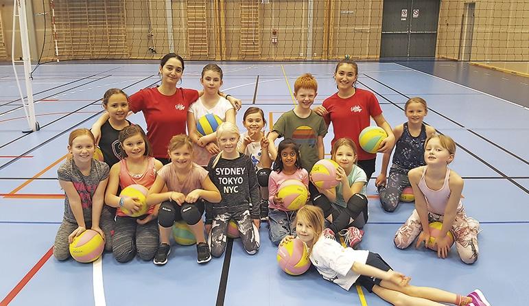Volleybollen engagerar i Älmhult